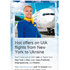 Hot offers on UIA flights from New York to Ukraine