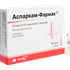 Asparcam-Farmak: Asparginat K-Mg: solution for inj. of 5, 10, 20 ml №10