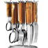 Pogo Galaxy Brown Stainless Steel Cutlery Set With Stand 25 Pcs Rs 899