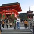 at the temple of Kiyomizu-dera