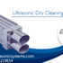 Ultrasonic Dry Cleaning